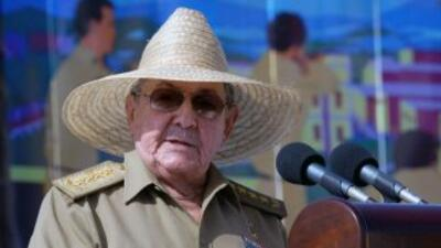 El lìder cubano Raúl Castro.