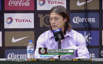 Almeyda: ''Estos mexicanos han demostrado que los tienen bien puestos''