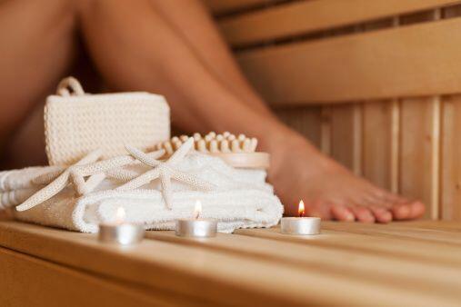 Tendrás relajación muscular. Un baño de vapor gener...