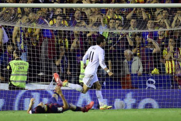 El gol de Bale volvió a poner diferencias en el marcador a favor...