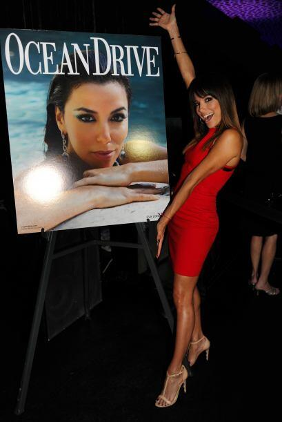De paso la actriz hispana aprovechó para presumir lo bien que salió en l...