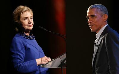 ¿A qué se deben las reapariciones públicas de Barack Obama y Hillary Cli...