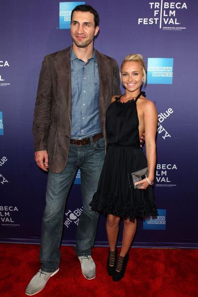El púgil ucraniano Wladimir Klitschko y la actriz estadounidense Hayden...
