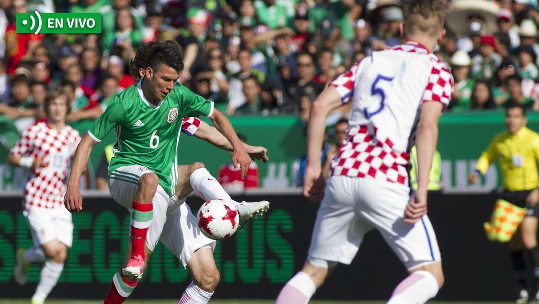 En vivo México vs. Croacia