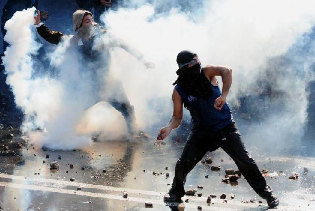 Entre las demandas de los manifestantes figuraban desde la libertad de l...