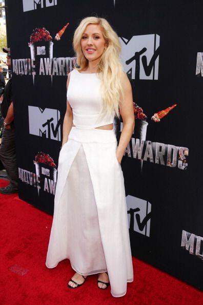 Ellie Goulding fue otra estrella dentro del firmamento de esta gala que...