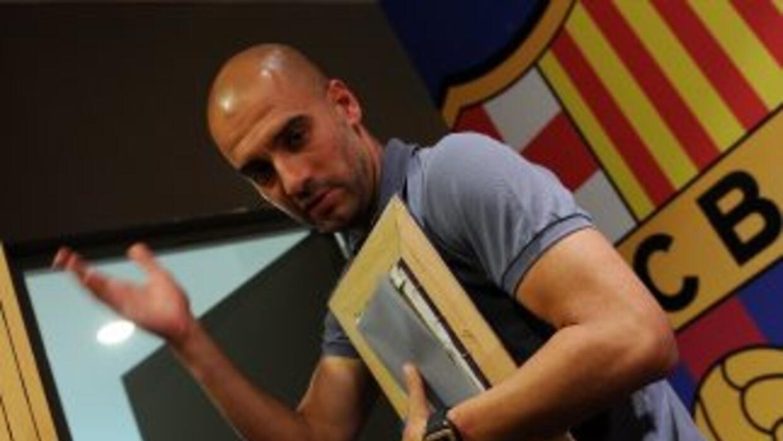El entrenador catalán aseguró que su etapa en el Barcelona está cerrada...
