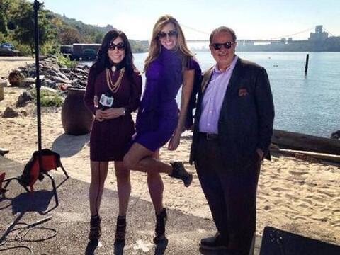 Gelena Solana fue quien apoyó a Lili y Raúl en estos progr...