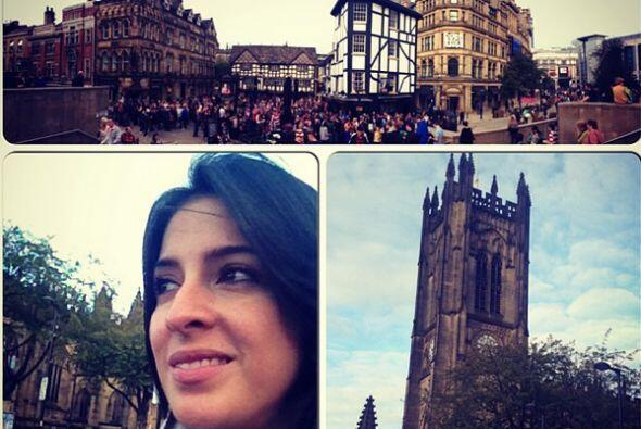 """""""Disfrutando un paseo por las calles de #Manchester #metime #travel #fun..."""