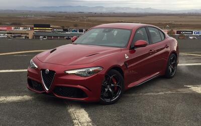Conoce al sedan de producción más poderoso del mundo: El Alfa Romeo Giul...