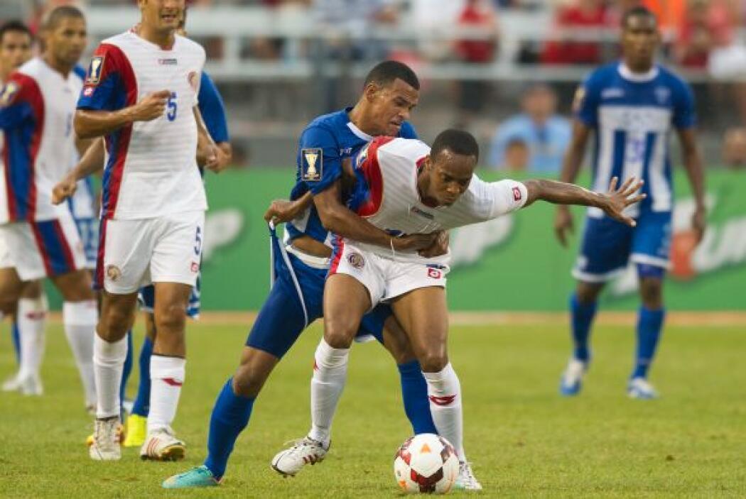 Honduras fue entonces el que tenía la ventaja 1-0.