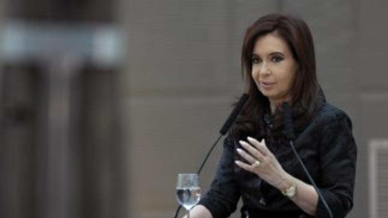 La presidenta de Argentina, Cristina Kirchner, publicó en su cuenta de T...