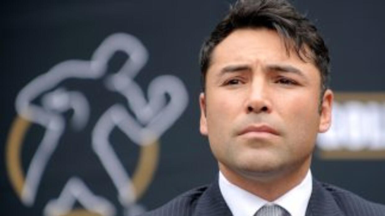 """""""scar De la Hoya mandó un mensaje a Bob Arum para trabajar juntos en fav..."""