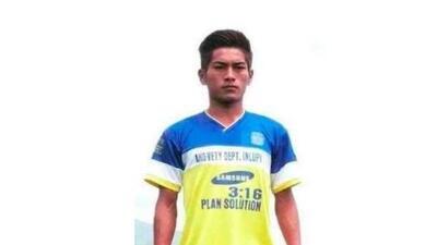Peter Biaksangzuala, jugador del FC Bethlehem Vengthlang, sufrió una tr...