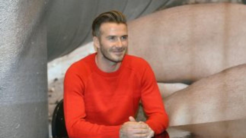 David Beckham anunciará con Don Garber el nuevo equipo de expasión de la...