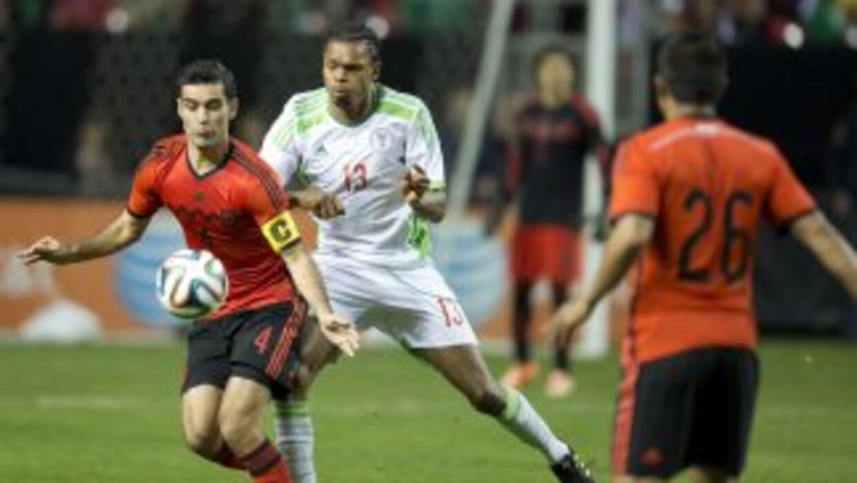 México y Nigeria juegan en Atlanta.