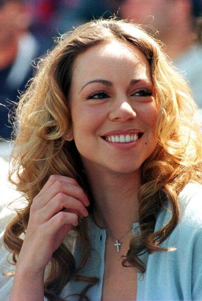 Mariah Carey fue su primer amor en la farándula. Aquí la c...