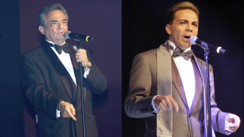 José José aplaudió los dos discos que Cristian Cast...