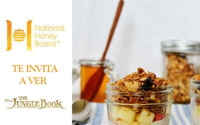 National Honey Board te invita a ver Disney's The Jungle Book