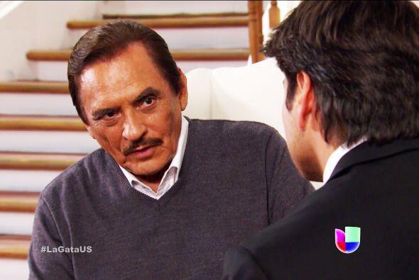 Don Fernando está muy agradecido contigo por ser el responsable de la fe...