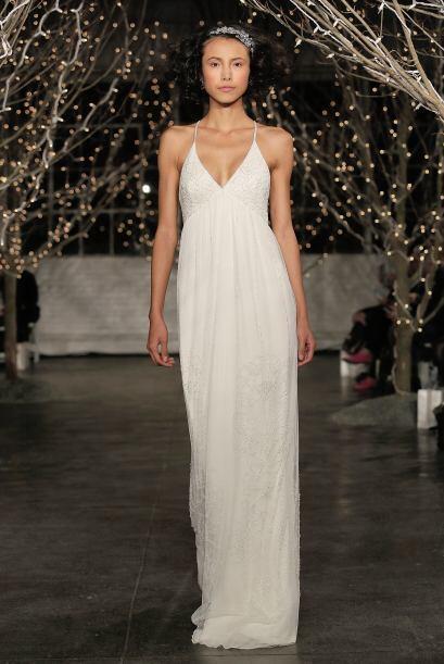 Se trata de telas con mucho movimiento que permiten a la novia que reali...