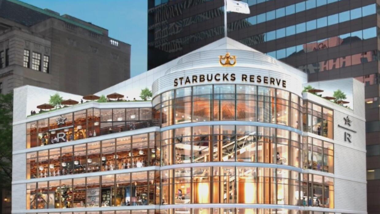 Starbucks anuncia que va a traer su cafetería más grande a Chicago