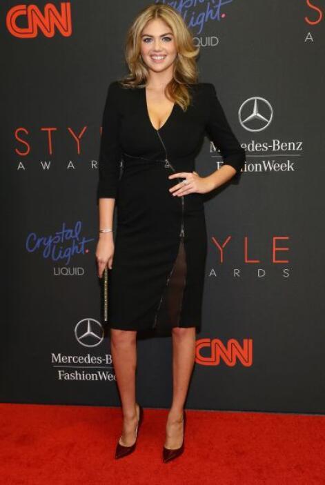 La modelo del año, Kate Upton, nos puso a derretir con su ardiente escot...