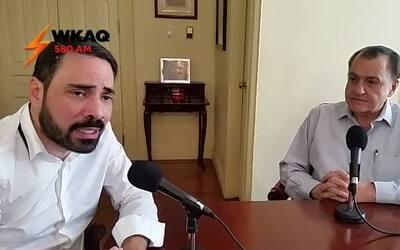 Hernández Colón en entrevista exclusiva con Ángel Rosa