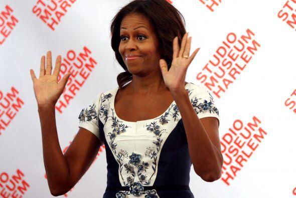 Como siempre, Michelle Obama fue una gran afitriona.