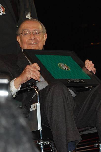 El Arq. Pedro Ramírez Vázquez, quien construyó el E...