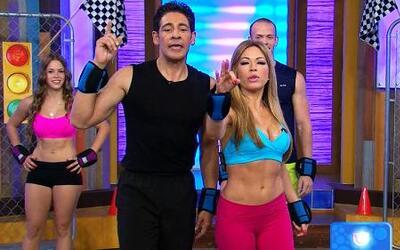 Ejercicios para acelerar el  metabolismo con Claudia Molina