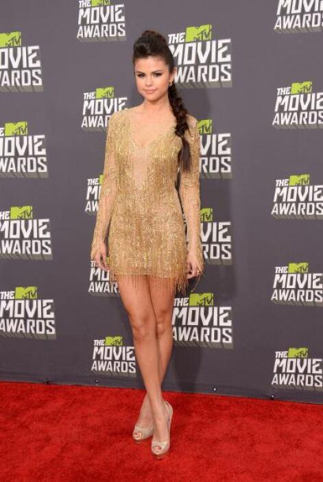 Selena Gomez siempre ha sido una diosa de las alfombras rojas, pero con...