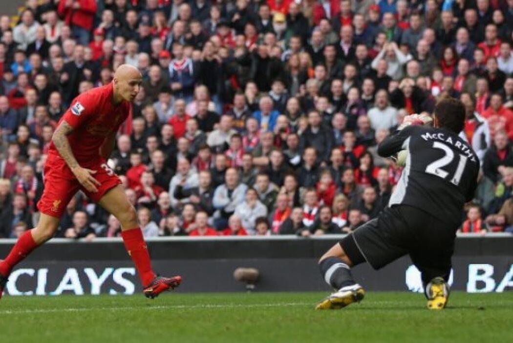 Pudieron venir más pero no tuvo fortuna el Liverpool.