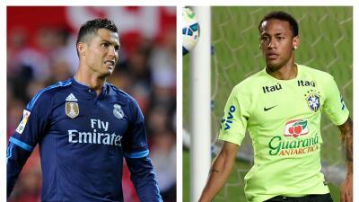 Cristiano y Neymar llevarán el peso del partido.