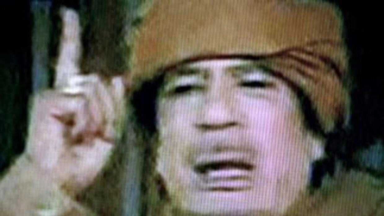 Muamar Gadafi gobernó libia durante 42 años. Se hallaba escondido en Sir...