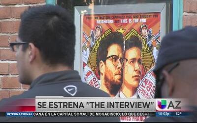"""Así se vivió el estreno de """"The Interview"""" en Arizona"""