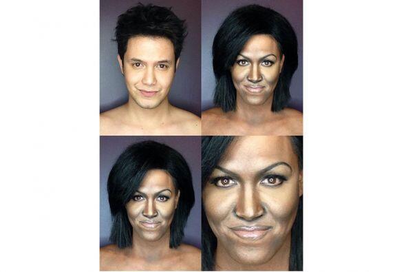 OMG! Idéntico a Michelle Obama.