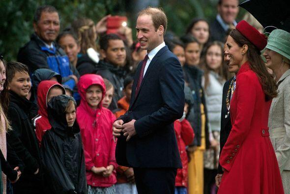 William y Kate a su llegada a Nueva Zelanda. Mira aquí los videos...