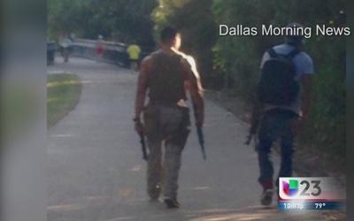 Piden dejar las armas fuera del Katy Trail