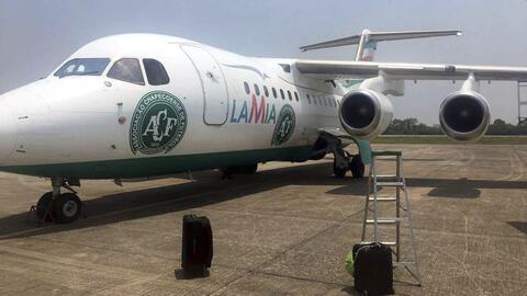 El mismo avión siniestrado transportó al Atlético N...