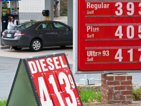 Hace un mes el precio del galón de combustible estaba a $3.970, sin emba...