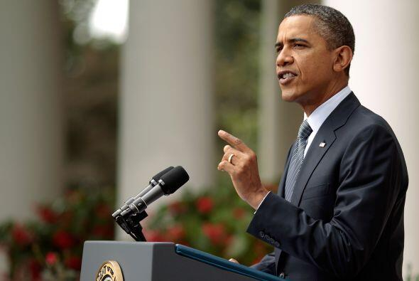 El presidente Barack Obama alentó este viernes a la Cámara de Representa...