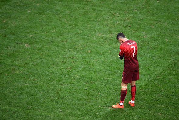 Ronaldo llegó lesionado a Mundial y así encaró la j...