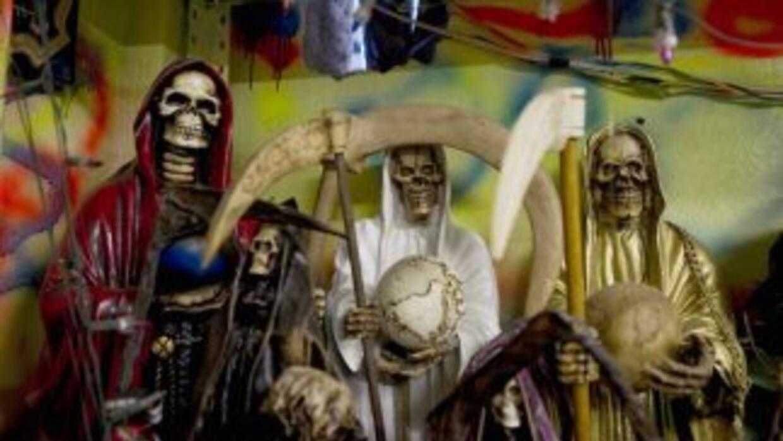 El rito a la Santa Muerte ha generado mucha polémica en México y en sus...