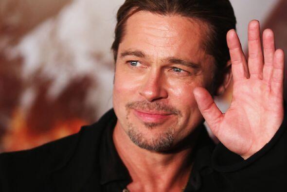 El esposo de Angelina Jolie, es sin dudas, uno de los hombres más guapos...