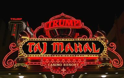 El casino de Trump en 2004, más de una década despu&eacute...