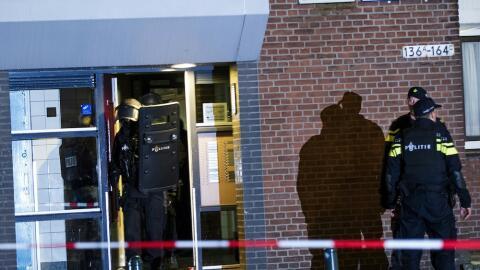 Operación antiterrorista en Rotterdam, Holanda