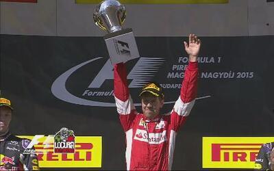 Ferrari dio la sorpresa, Vettel ganó el GP de Hungría