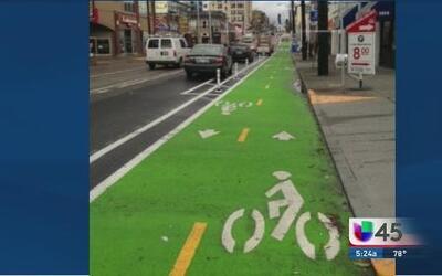 Houston tendrá carril para bicicletas