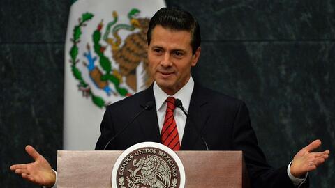 """Peña Nieto: """"Hablé con el presidente electo Donald Trump y acordamos com..."""